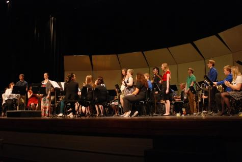 Symphonic band awards concert ends the year with a bang