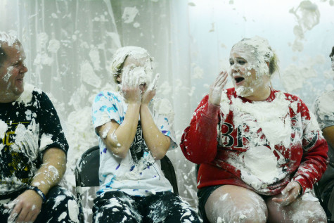 DECA  officers get pied
