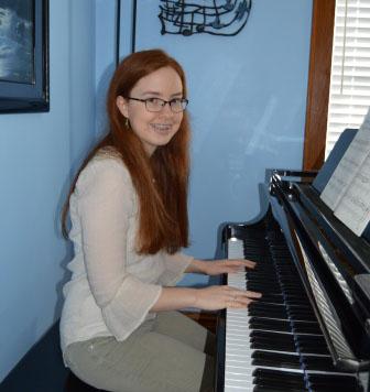 Schrock pursues music throughout high school