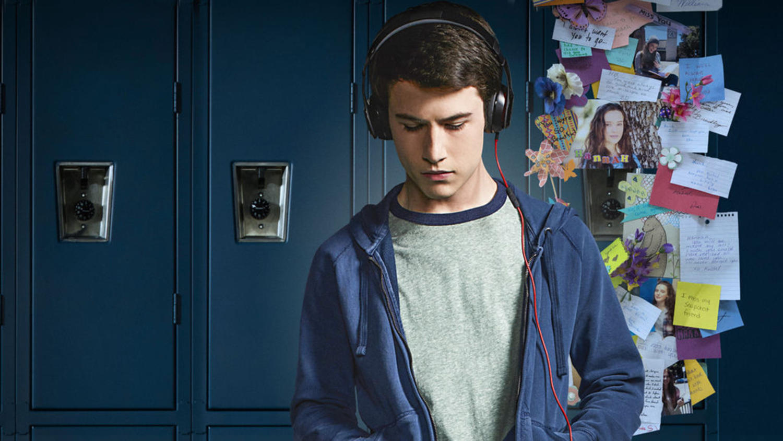 Dylan Minnette in 13 Reasons Why (Netflix)
