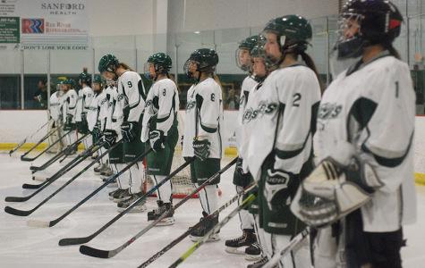 Girl's state Hockey vs. Davies