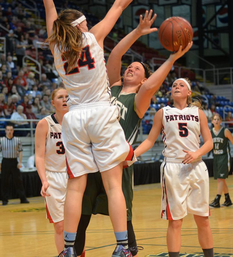 Girl's state Basketball vs. Bismarck