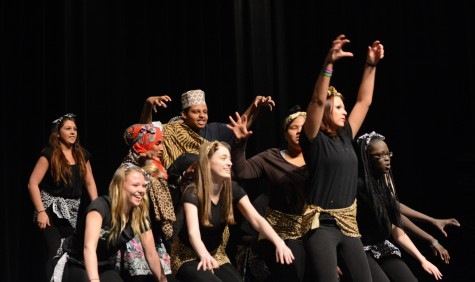 Dance jam highlights contrasting cultures