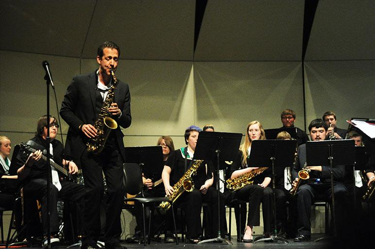 Guests at A Night of Jazz dazzle the audience