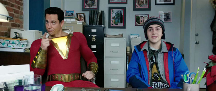 Zachary+Levi+and+Jack+Dylan+Grazer+in+%22Shazam%21%22+%28DC+Comics%2FWarner+Bros.%29